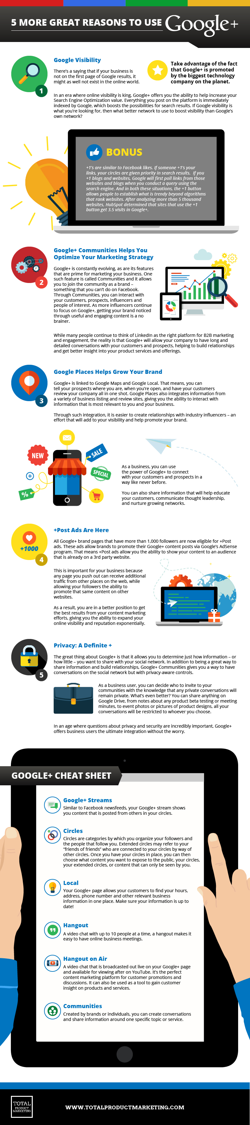 5 more reasons to use google+