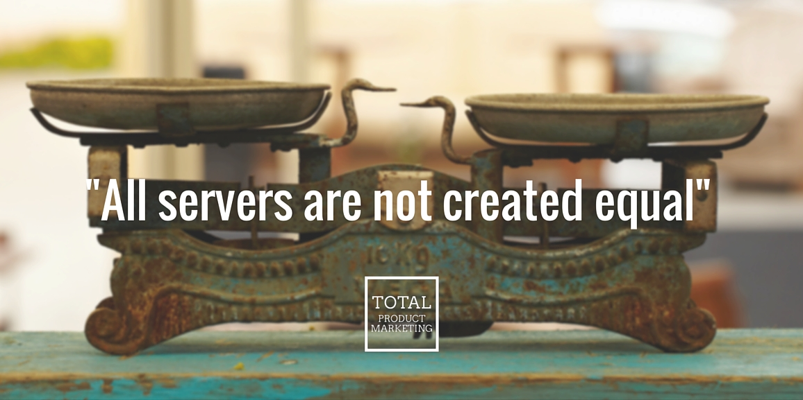 All cloud servers are not created equal.