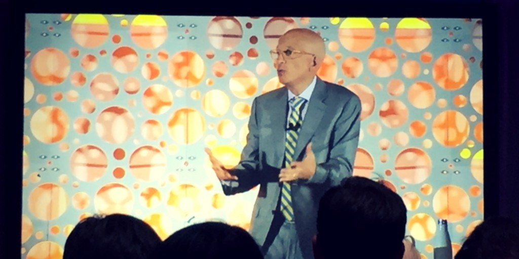 Seth Godin, keynote speaker at INBOUND 2015, gave great insight into inbound marketing, sales and services.