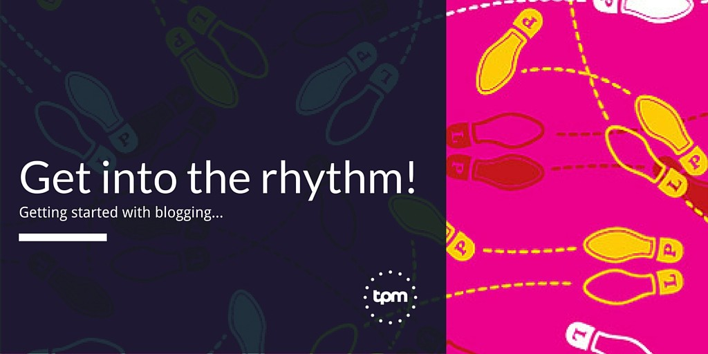 Get into the rhythm of blogging by starting with your key takeaways.