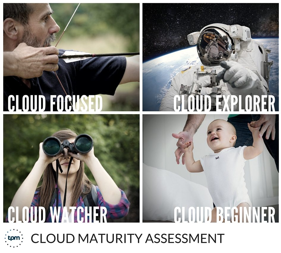 Using a Cloud maturity assessment will help MSPS determine which of the four Cloud user categories their clients fall under.