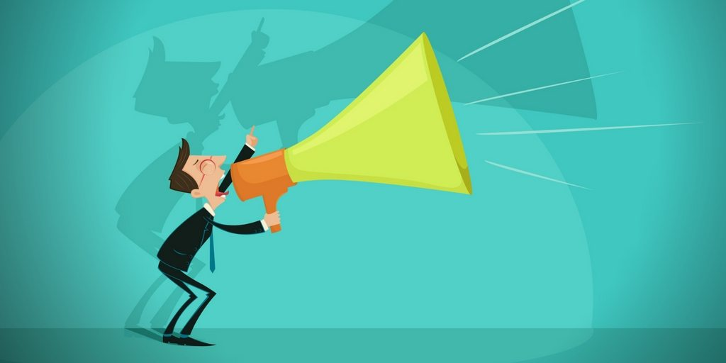 Marketing is your megaphone.