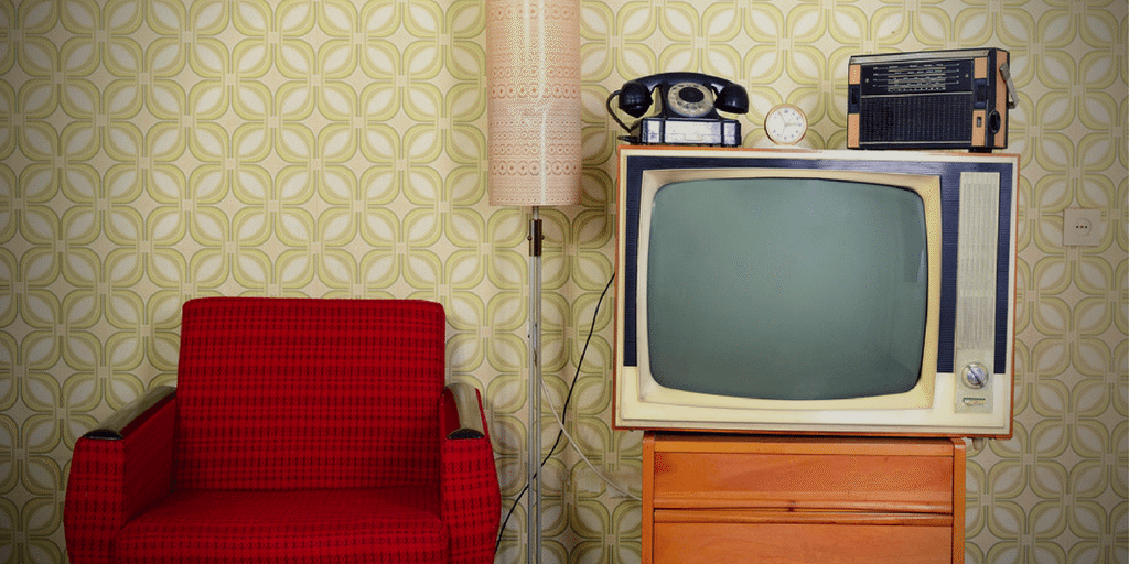 Traditional marketing was entrenched in TV advertising, print and radio.