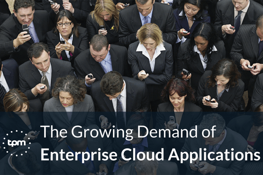 The Growing Demand of Enterprise Cloud Applications