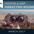 Hoster & MSP Marketing Roundup: March 2017