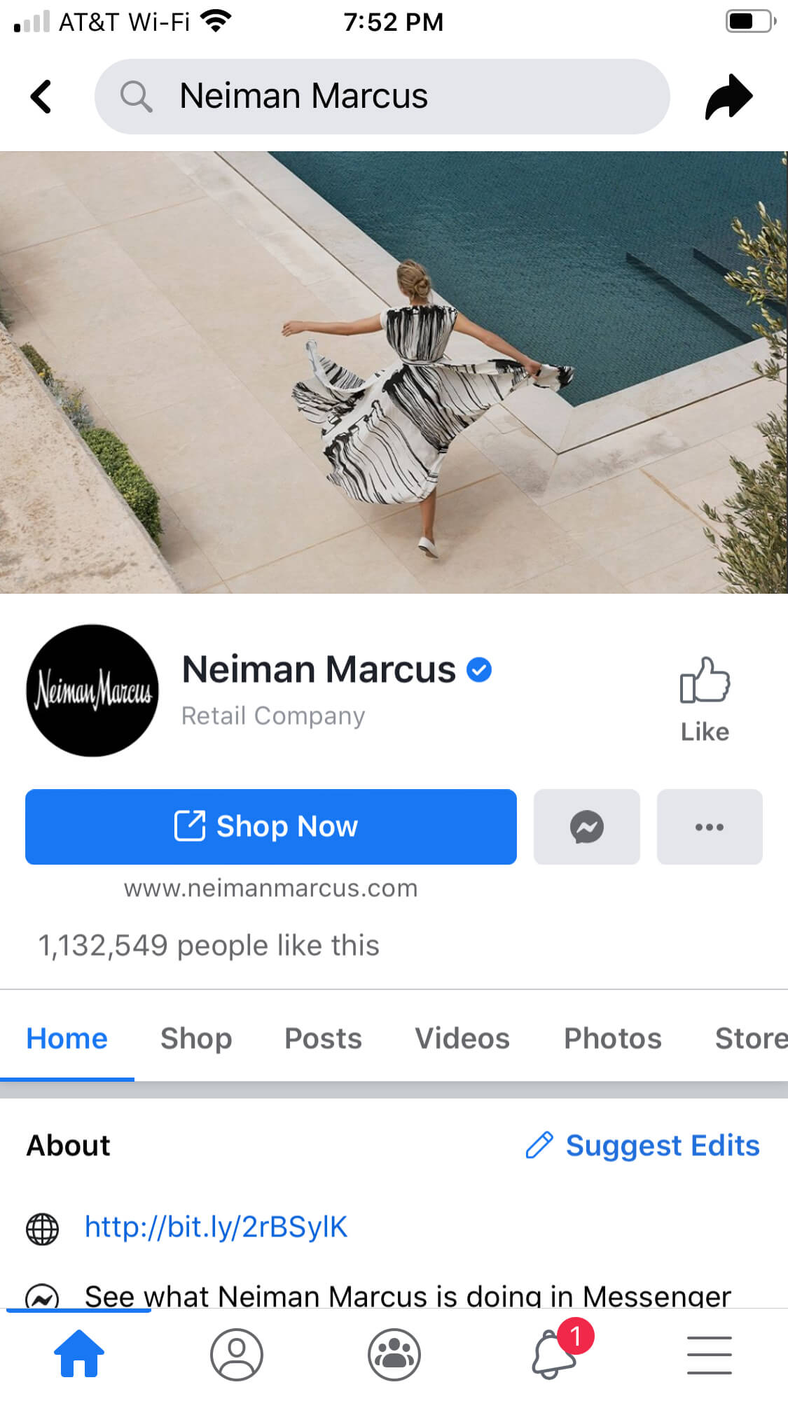 Facebook Buy Buttons Neiman