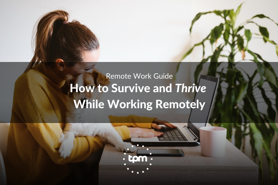 How to Survive and Thrive While Working Remotely