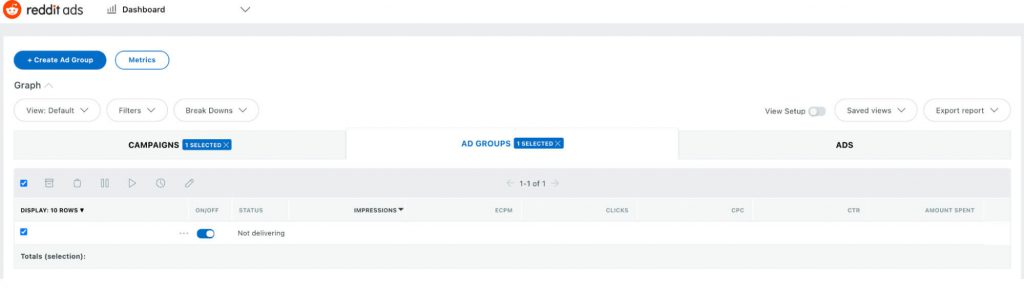 How to Advertise on Reddit: Go Live